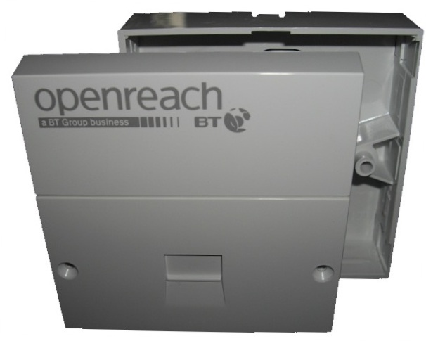 BT Openreach Branded NTE5A Master Socket