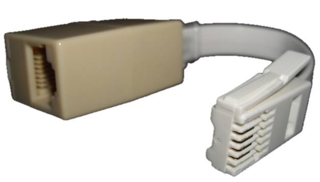 BT Male to RJ45 Female Converter, Secondary