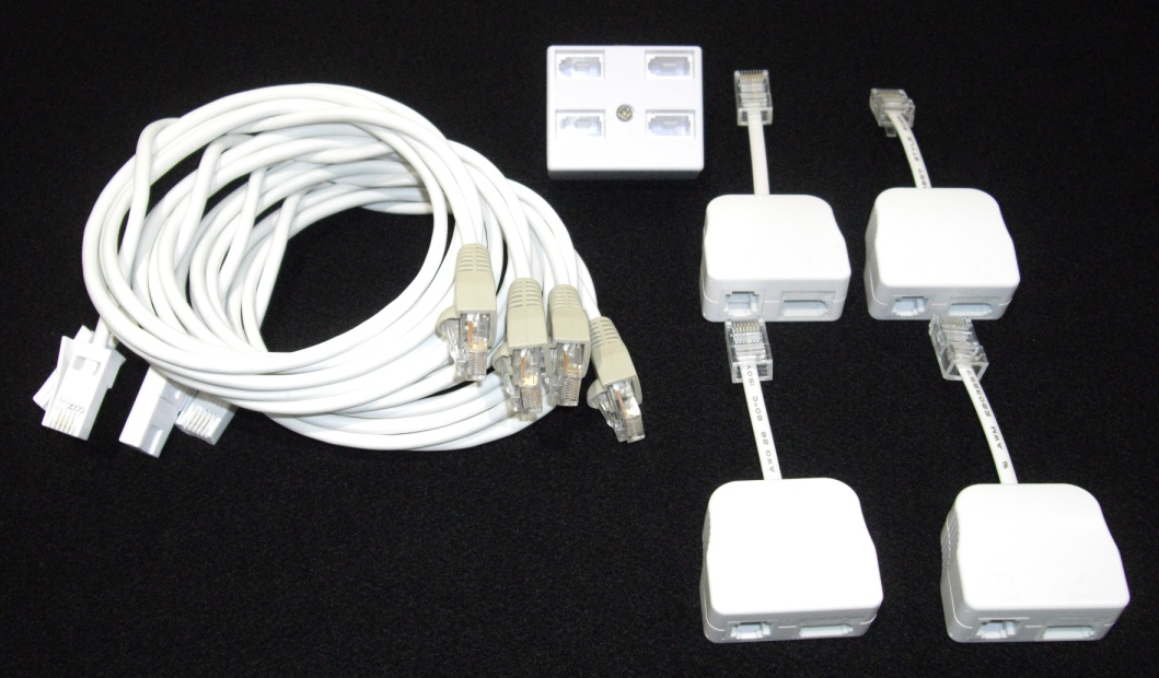 BT to RJ45 Patch Kit-4 User Broadband Version