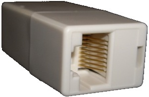 BT female to RJ45 female-RJ45 end