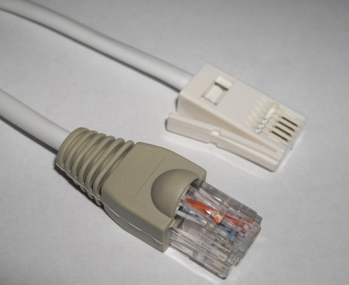 0.5m BT to RJ45 Patch Lead (wired for master RJ45 to BT Converter)