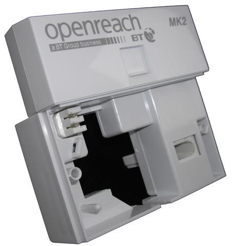 bt openreach u2122 vdsl faceplate mk2 version bt openreach mk2 socket wiring Telephone Jack Box