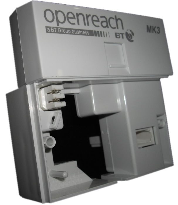 Mk3 Bt Openreach Vdsl Faceplate Filter