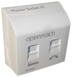 Openreach™ G.Fast Faceplate & NTE5C Master Socket