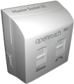 Openreach MK4™ VDSL Plate & NTE5C Socket - Combined Unit